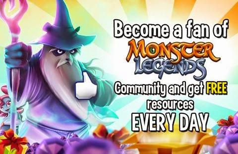 imagen de gana 5 gemas gratis en monster legends