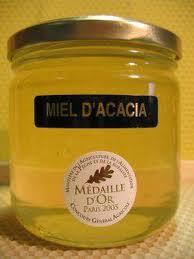 miel d'acacia regime