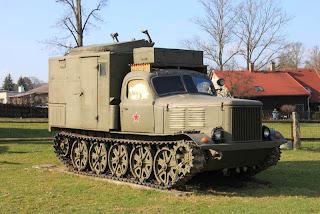 АТ-Л - артиллерийский тягач в Чехии