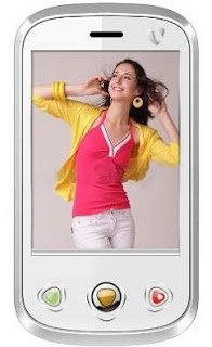 Dual SIM Touchscreen Phone Videocon V1545