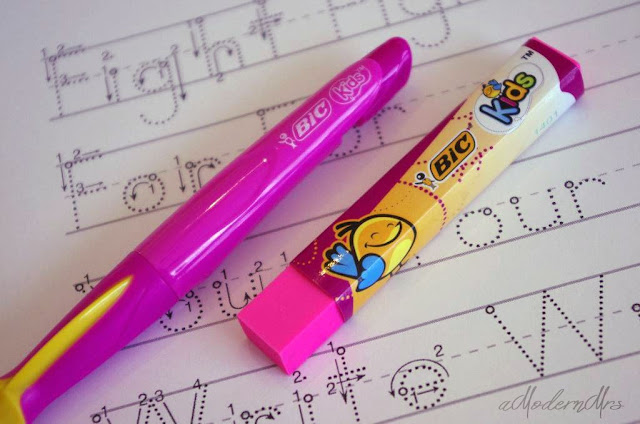 BIC Kids Mechanical Pencil #BICFightForYourWrite — amodernmrs.com