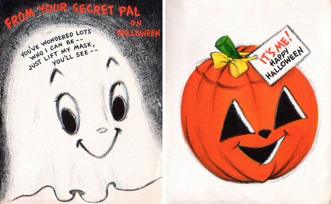 And Everything Else Too Vintage Halloween Cards