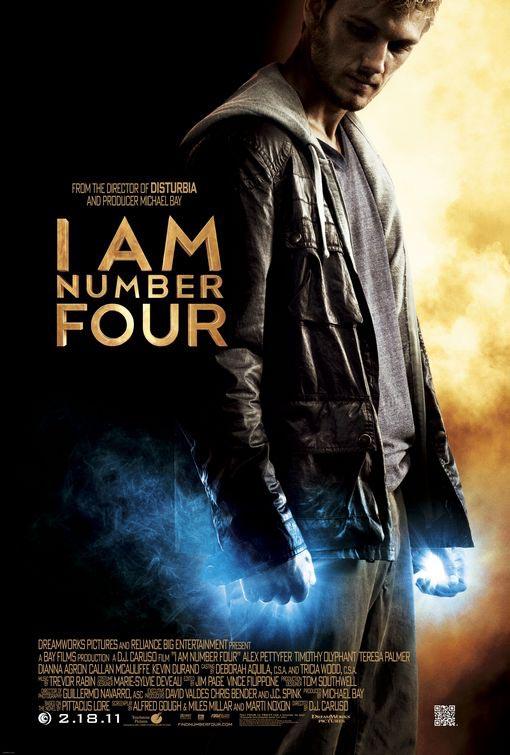 Ars Longa, Vita Brevis: February 2011 I Am Number Four Movie Poster