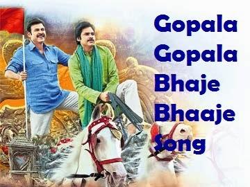 Pawan Kalyan's 'Gopala Gopala' Bhaje Bhaaje Song Released