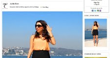 MY INTERVIEW ON MIDDLE EAST FASHION / MIDDLE EAST FASHION SITESININ BENIMLE YAPTIGI ROPORTAJ