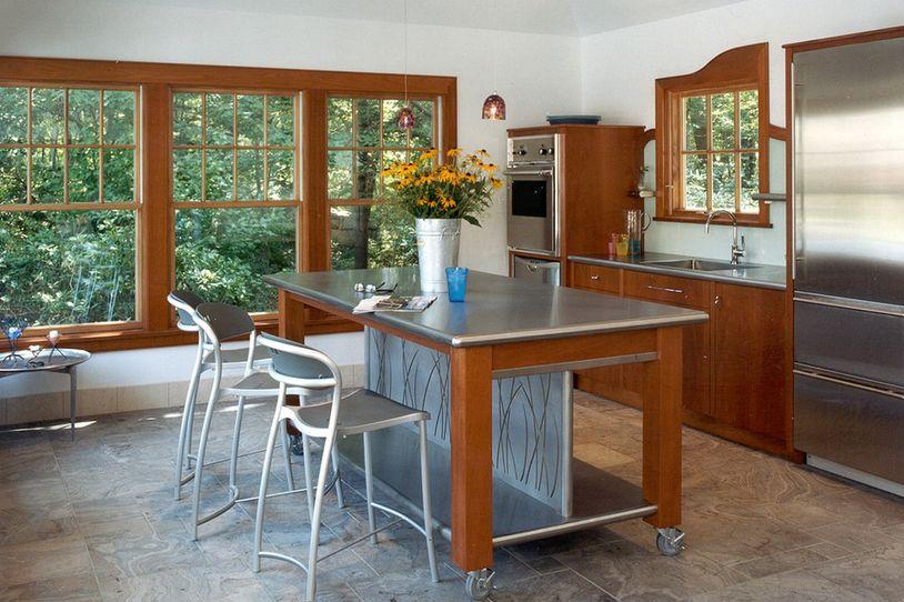De casi todo un poco mas cocina mesas de trabajo de for Mesas de trabajo para cocina