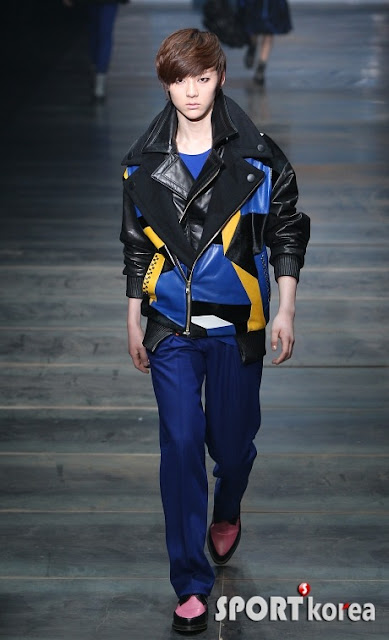 [Pic][070412] Minhyun en Seoul Fashion Week 1