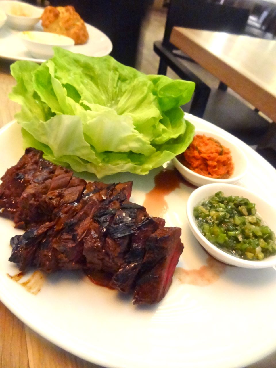 ... butter steak with kimchi butter recipe grilled steak with kimchi