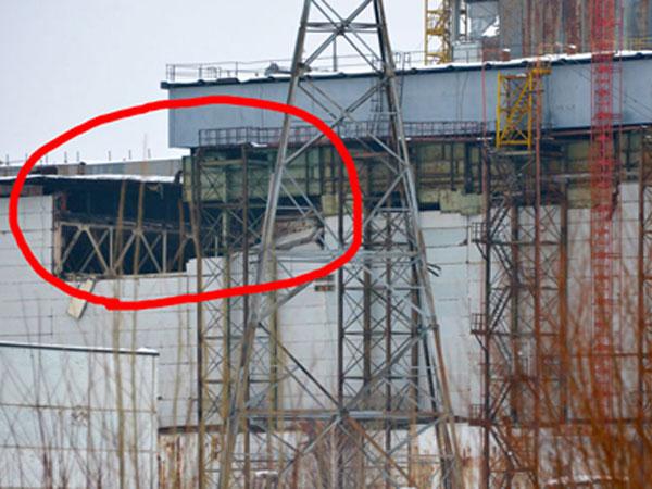 Daniel orbis: Evacuan planta nuclear de Chernobyl por derrumbe
