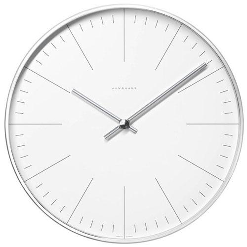 modern interior design Max Bill Modern Minimalist Steel Wall – Minimalist Wall Clock