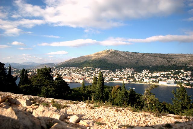Вид на Дубровник. Неподалеку от форта Наполеона