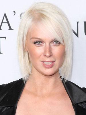 Meilleure coiffure tendance meilleure coupe au carr - Cheveux blond blanc ...