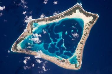 Ilha movida a energia solar