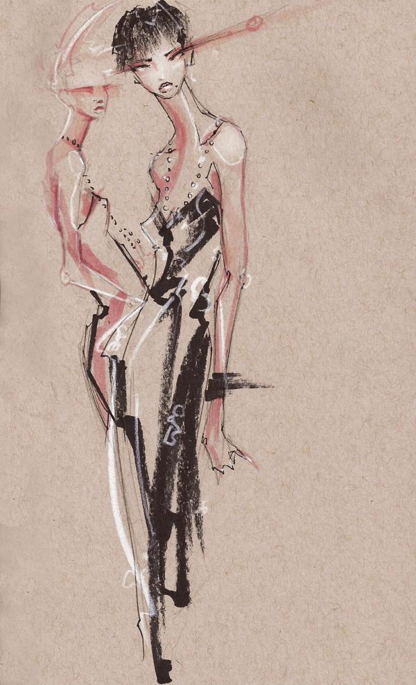 Doctor Ojiplático. Peter McNierney. Fashion Illustrations