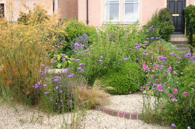 Instalar grava en el jard n guia de jardin - Jardin con grava ...