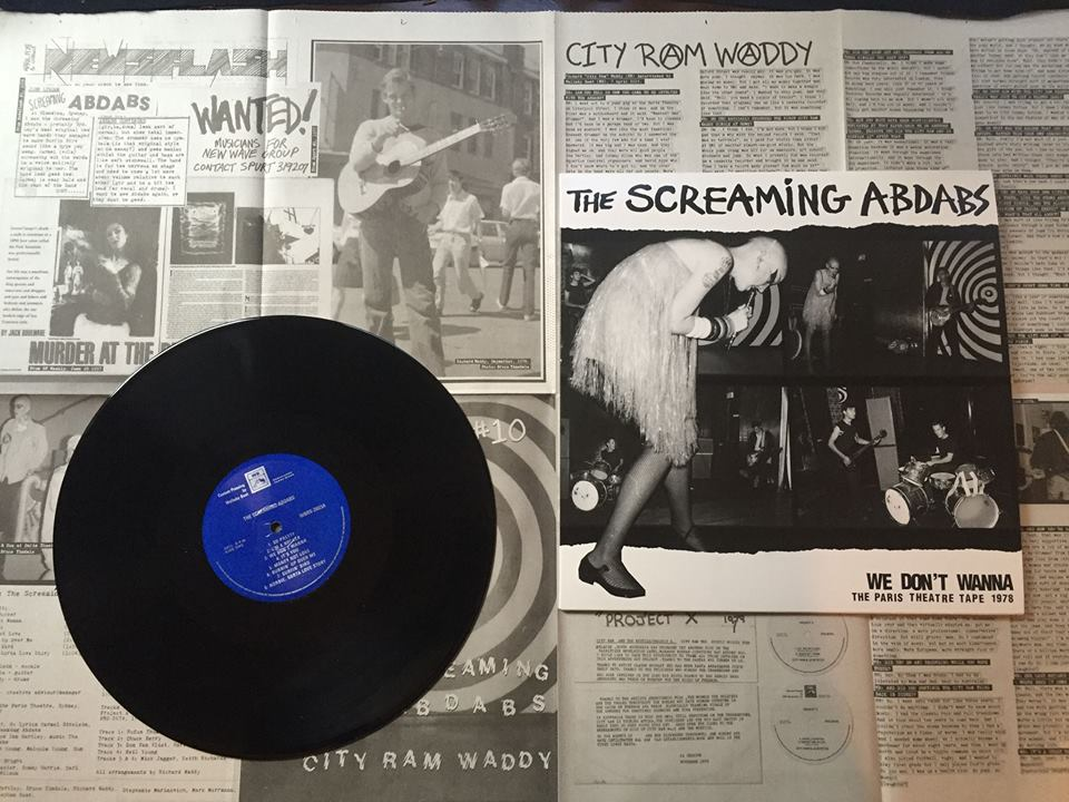 Wallaby Beat The Screaming Abdabs City Ram Waddy LP Out Now