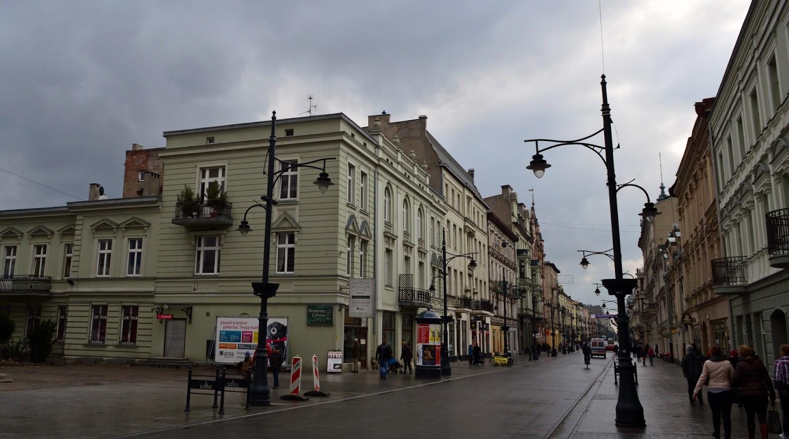 Spacerowa Łódź cz. II - Piotrkowska
