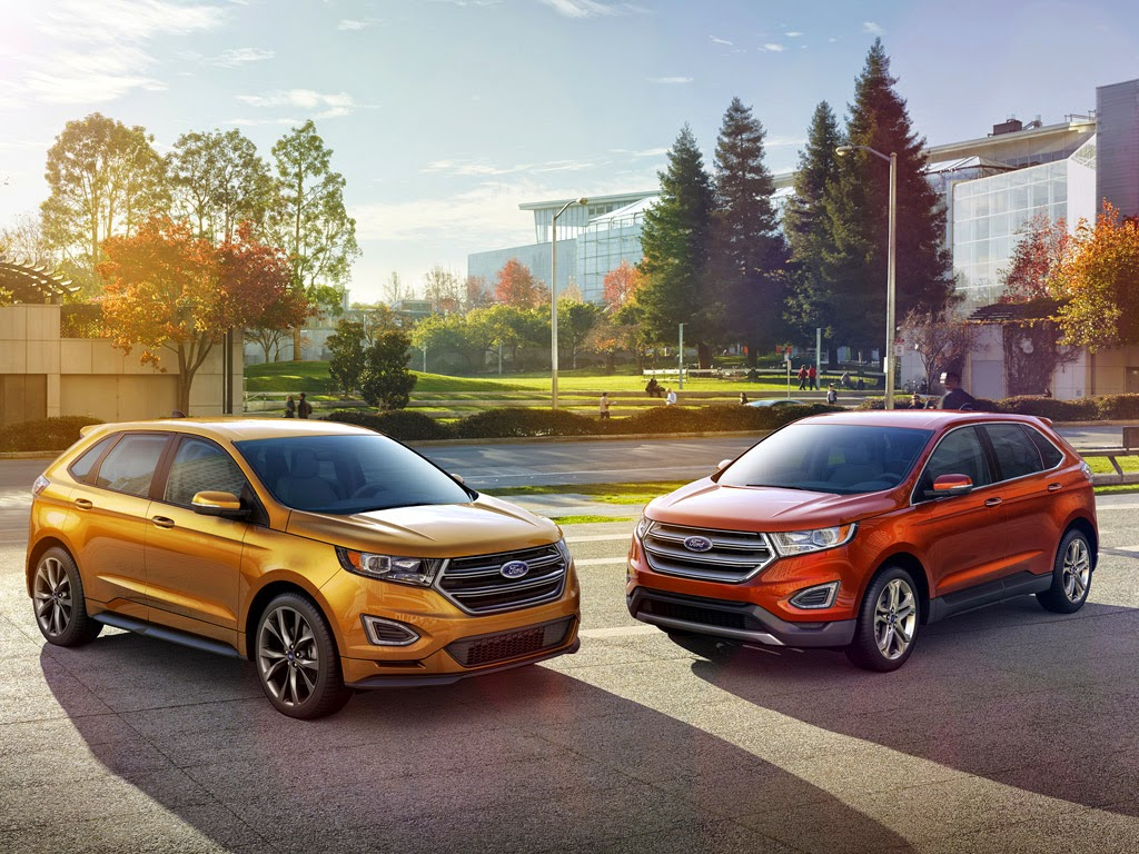 The 2015 Ford Edge Makes A Statement