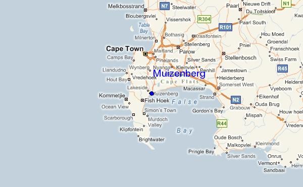 Muizenberg South Africa Tourist Destinations