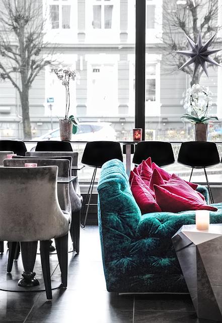 Interior Design sofa lobby modern design norway