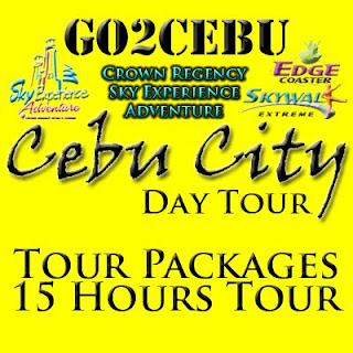 Cebu City + Crown Regency Sky Experience Adventure in Cebu Day Tour Itinerary 15 Hours Package