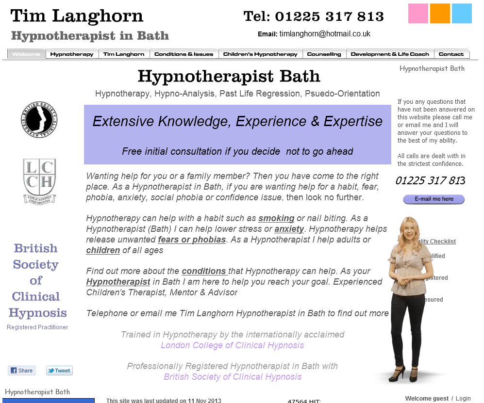 Bath Business Web Business Directory Website design and Construction