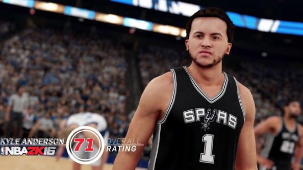 NBA 2k16 Screenshot Kyle Anderson - HoopsVilla