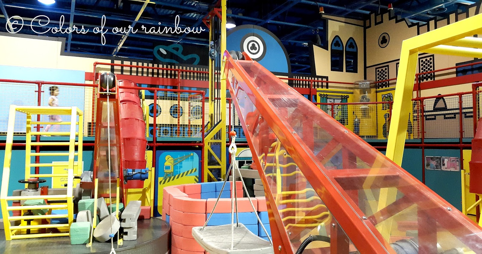 the construction area for kids discovery centre sharjah