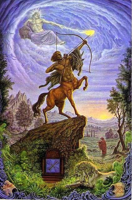 Signo de Sagitario, Zodiaco Johfra Bosschart