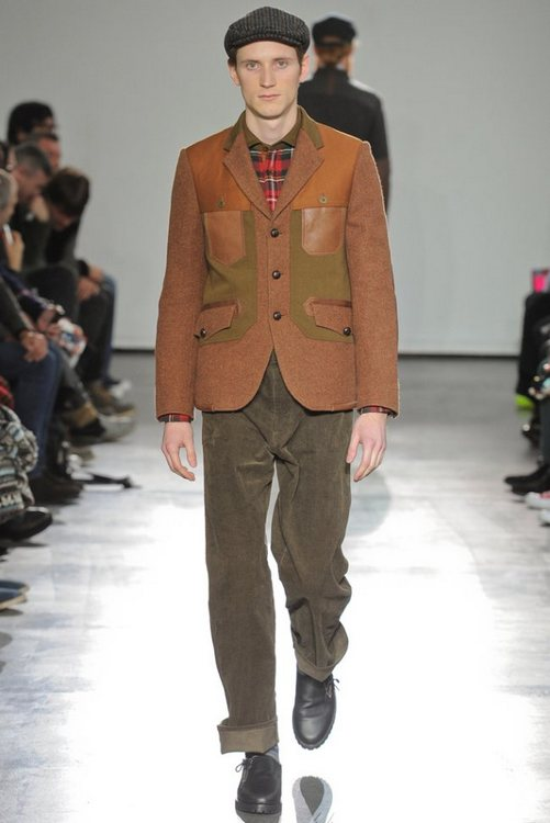 F/W 2012-2013 mens fashuon trends