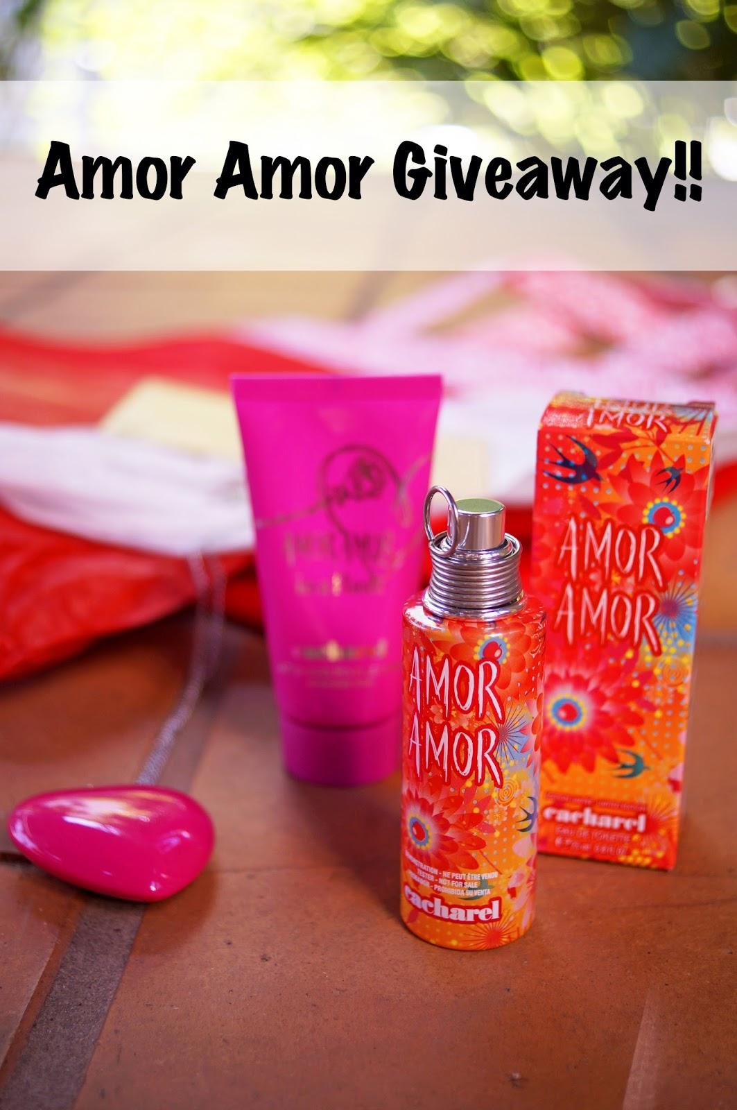 Amor Amor Perfume Giveaway