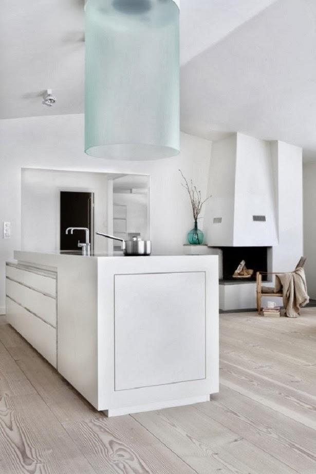 Minimalist kitchen design with bright yellow concept for Minimalist design concept
