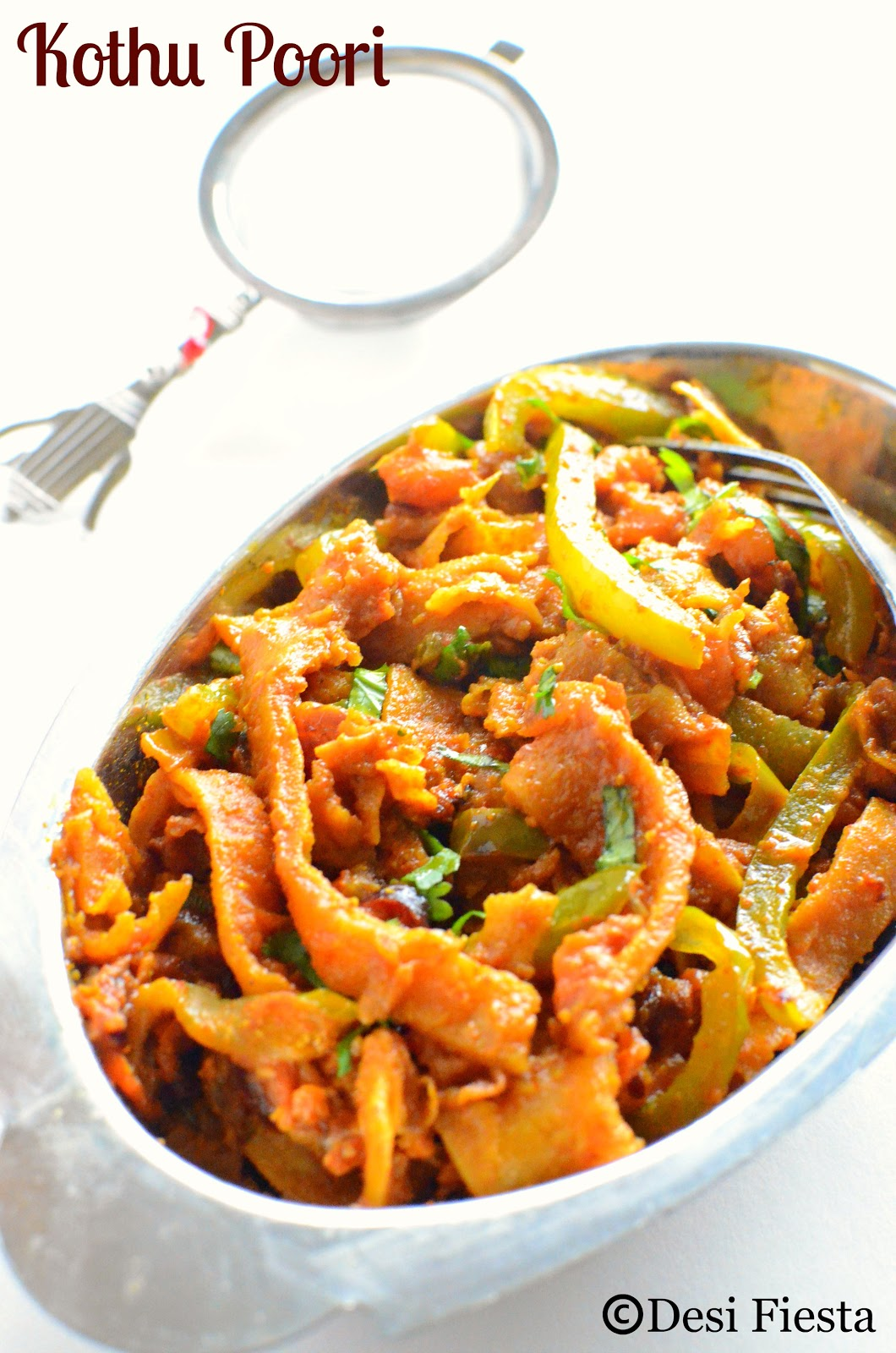 Kothu Poori recipe