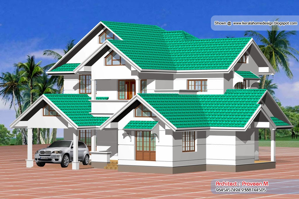 N Home Elevation Xp : Kera slyle villa engineering dairy