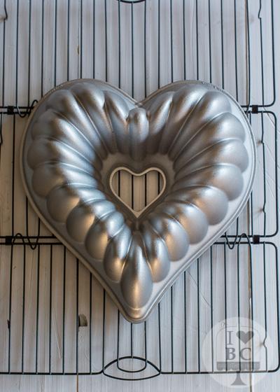 Molde corazón Nordic Ware