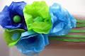 Como hacer flores de papel facil