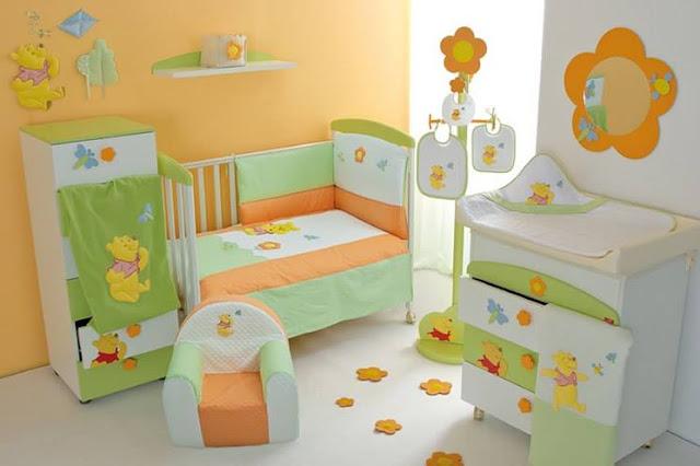 Construindo Minha Casa Clean Quartos de Bebê! Modernos e  ~ Quarto Verde E Vermelho