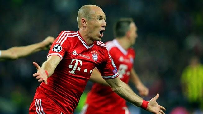 JUDI BOLA - Guardiola Memuji Kualitas Robben