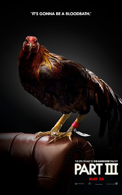 The Hangover Part III Portrait Character Movie Posters - It's Gonna Be A Bloodbath - Rooster