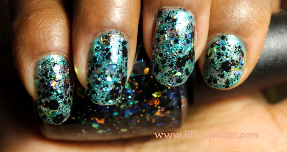 OPI Gwen Stafani's Comet In The Sky Glitter Polish