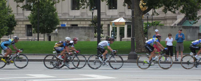 Bells Bikes Philadelphia across a bike race around