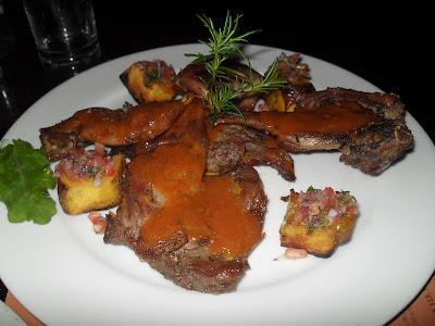 Cuy (Conejillo de Indias o Cobaya) al estilo Inka Grill