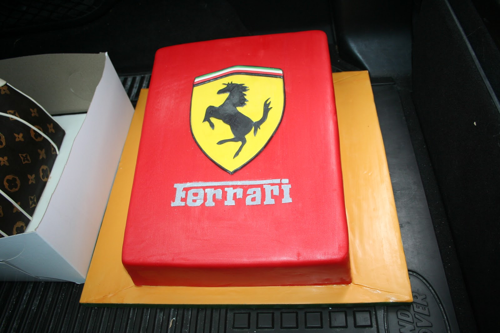 Ferarri Cake Kathy Dvorski Cakes