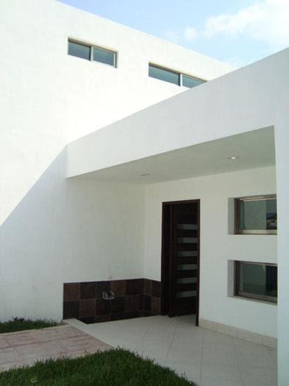 Fachadas minimalistas entrada de casa minimalista for Casa minimalista blog