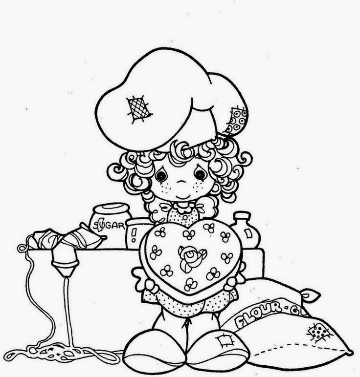 Ayudas para maestras de escuela dominical mas dibujos for Coloring pages precious moments print