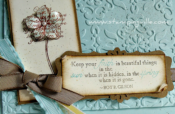 Inspiring Quotes Handmade Card Ideas
