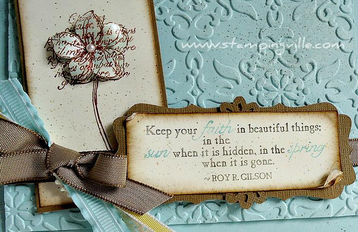 Inspiring Quotes Handmade Card Ideas