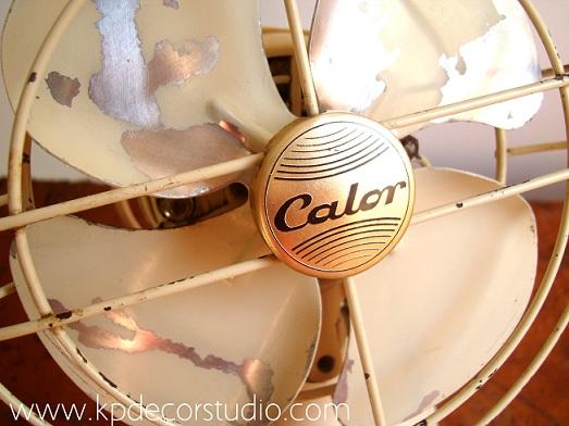 ventilador antiguo comprar online. metal decapado. ventiladores industriales y vintage originales