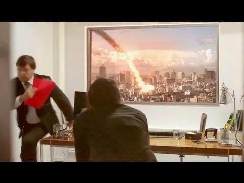 اعلان خدعة القنبلة النووية لتلفزيون ال جي LG فائق الوضوح