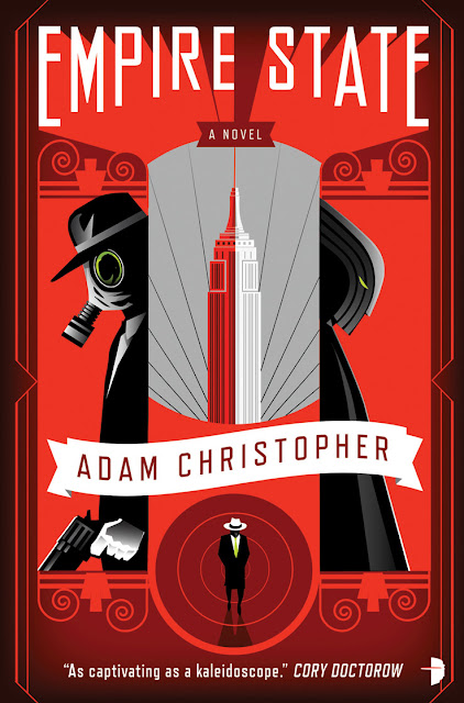 Interview with Adam Christopher and Giveaway - February 11, 2012
